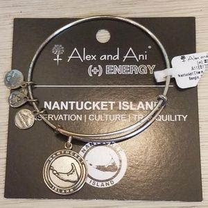 NWT ALEX and ANI Nantucket Island Bangle Bracelet